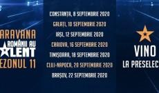 Încep preselecțiile pentru sezonul 11 Românii au talent!