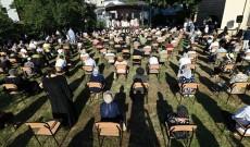Sărbătoarea Sfântului Ierarh Nifon, fără îmbulzeală şi cu respectarea strictă a normelor sanitare