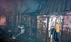 Incendiu violent, la Poiana