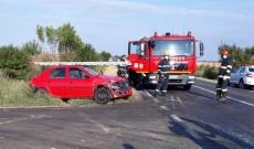 Accident grav la Mătăsaru. O femeie a fost încarcerată