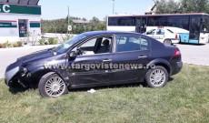 Un şofer a fost grav rănit după ce a făcut accident în benzinăria de la I.L.Caragiale