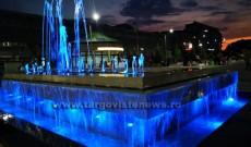 Târgovişte – Reparaţii la fântânile din Piaţa Tricolorului
