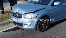 Accident în intersecția de la Nisipuri. Un adolescent a fost rănit