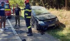 Accident cu două victime, la Priseaca