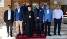 Liderii PSD Dâmboviţa, la reşedinţa ÎPS Nifon