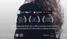 Bright Sky RO, aplicația destinată victimelor violenței domestice