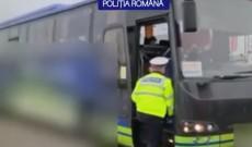 Controale în autobuze şi microbuze