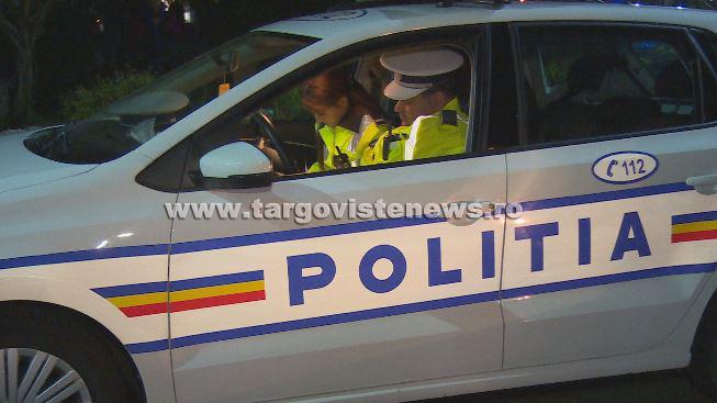 Un tânăr de 19 ani, din Târgovişte, fără permis, a furat o maşină şi a făcut accident