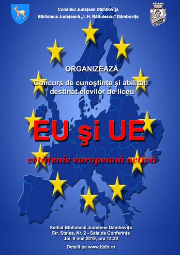 Târgovişte – Ziua Europei, sărbătorită la biblioteca judeţeană