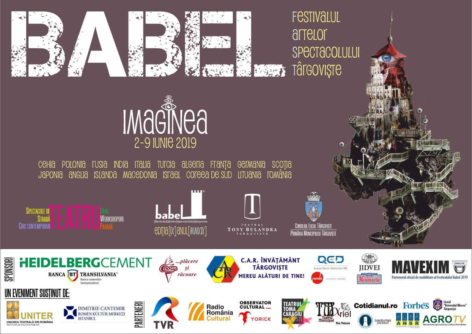 Programul complet al Babel FAST! Azi, deschiderea oficială