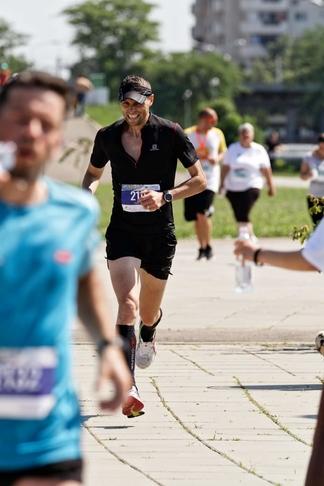 """Jandarmul Ionuţ Timofte, locul al II-lea la """"super cursa faptelor bune"""""""