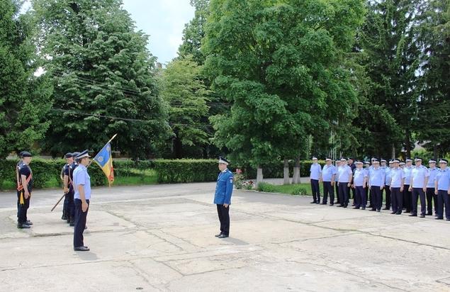 Festivitate de depunere a jurământului militar, la Jandarmeria Dâmboviţa