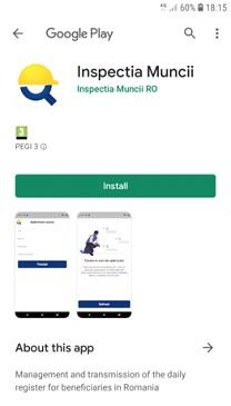 """ITM a lansat aplicaţia """"Inspectia Muncii"""", destinată angajatorilor care folosesc zilieri"""