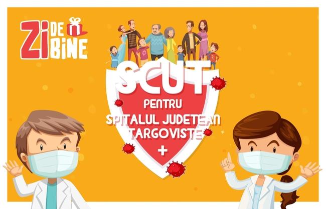 Medicii din Târgoviște au nevoie de ajutorul nostru  pentru a lupta în siguranță împotriva Covid-19 #scutpentruspitale