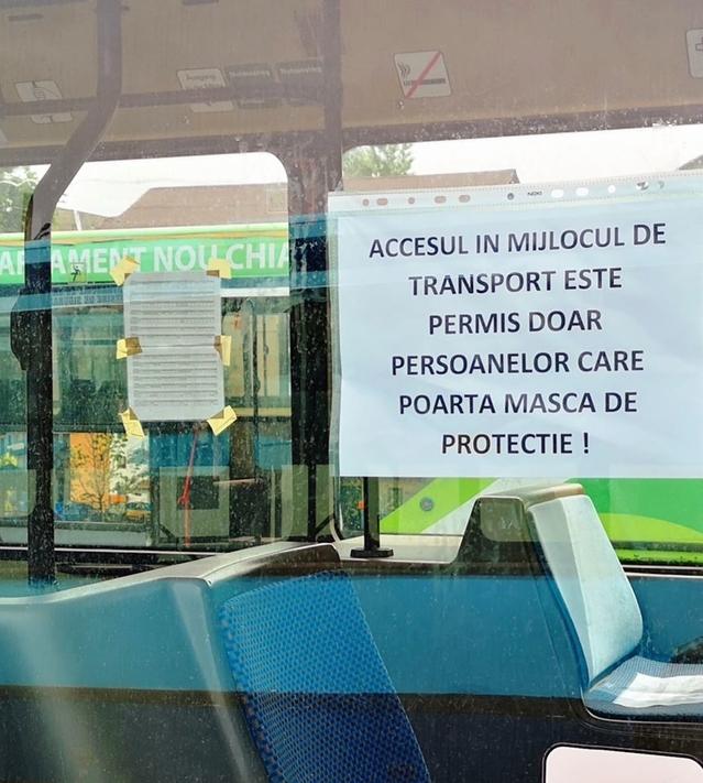 Târgovişte – Reguli stricte pentru transportul în comun