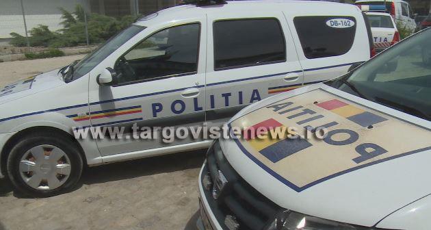 Moreni – Tânăr, de 19 ani, prins la volan fără permis şi cu sute de litri de gazolină în portbagajul maşinii