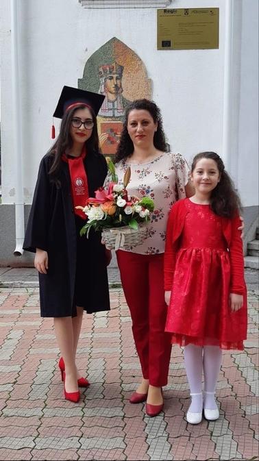 Felicitări! Badea Anamaria-Dasiana, singura elevă cu medie de 10, la Liceul de Arte Bălașa Doamna