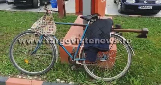 Accident la Priboiu. Un şofer, de 70 de ani, a dat peste o femeie, pe bicicletă