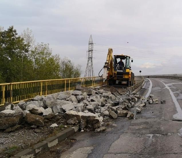 Târgovişte – Se lucrează la pasajul rutier de pe strada Petru Cercel