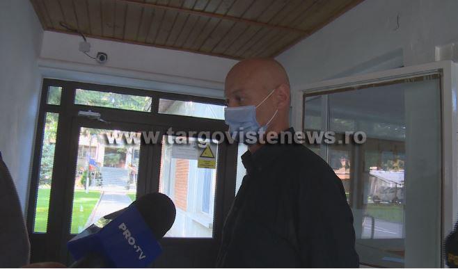 Bogdan Olteanu s-a predat Poliţiei Dâmboviţa. Primele imagini