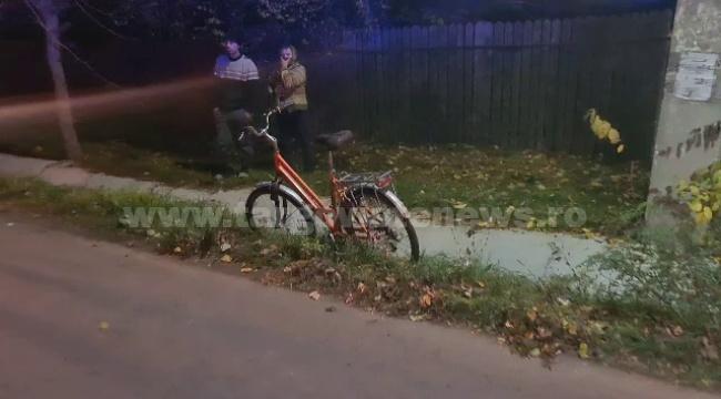 Biciclist rănit de o dubă, la Braniştea