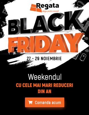 Black Friday Regata: 27-29 Noiembrie   Weekendul cu cele mai mari reduceri din an