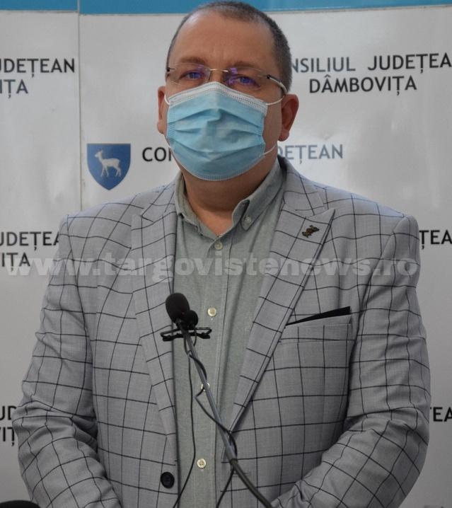 """Spitalul Judeţean Târgovişte – """"Consumul de oxigen a crescut de trei ori faţă de anul trecut"""""""