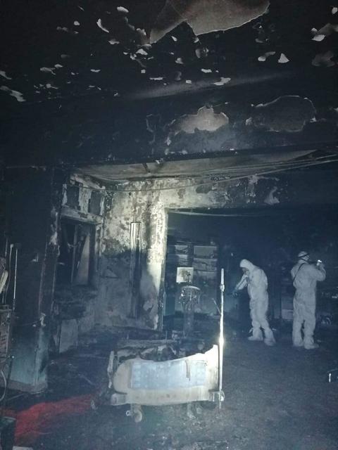10 oameni au ars de vii în Secţia ATI a Spitalului Județean din Piatra Neamț