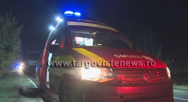 Un şofer sub influenţa alcoolului s-a răsturnat cu maşina, la Valea Mare