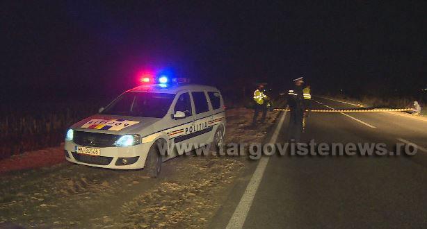 Accident mortal la ieşirea din Săcuieni spre Târgovişte. Un pieton a fost spulberat de o camionetă