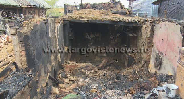 O femeie din Odobeşti a ars de vie în propria casă. Incendiul a pornit de la un televizor