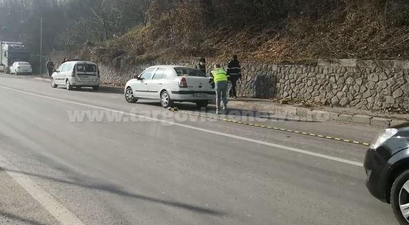 Doi oameni au fost răniţi şi trei maşini au fost avariate, la ieşirea din Fieni spre Târgovişte