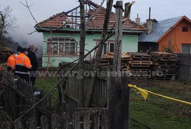 O femeie, de 84 de ani, a murit arsă de vie, la Crovu, în Odobeşti