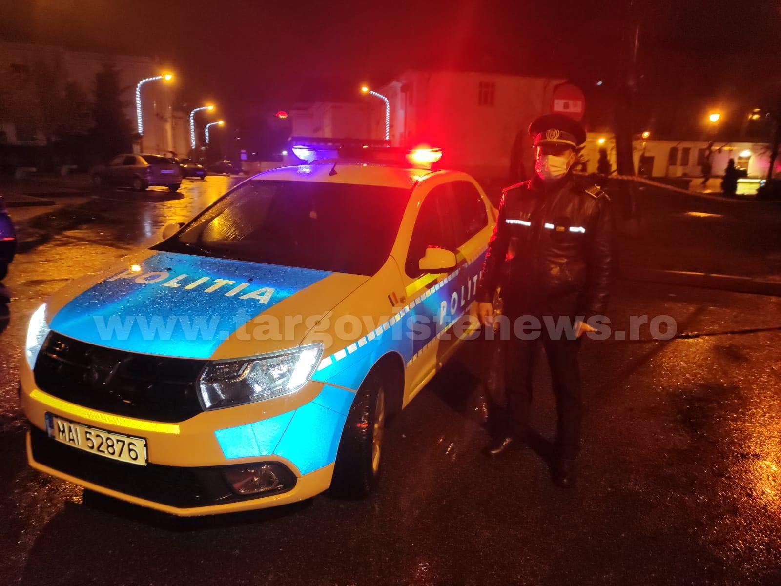 Urmărire cu focuri de armă! Poliţiştii au folosit pistoalele să oprească un şofer beat, la Breaza