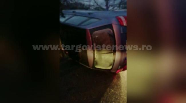 Un tânăr fără permis a lovit cu mașina doi pietoni, apoi a fugit. Polițiștii sunt pe urmele lui