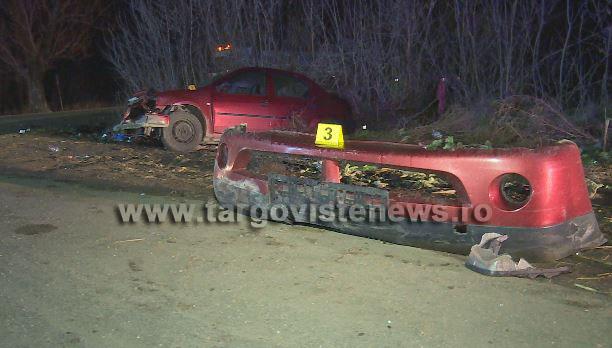 Accident cu 5 victime, provocat de o şoferiţă începătoare, pe DN 7, la Serdanu