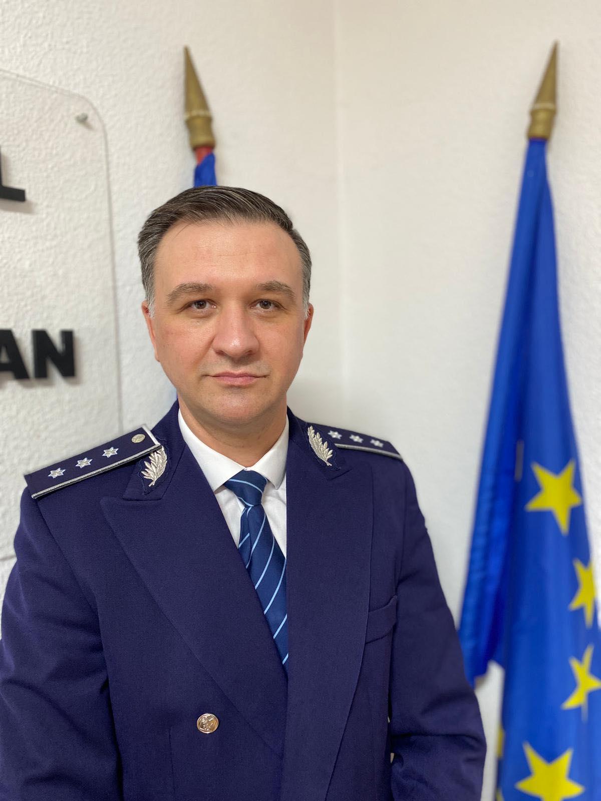 Profesionist! Comisarul şef Uţă Nicolae Gabriel, noul şef al Poliţiei Rutiere Dâmboviţa
