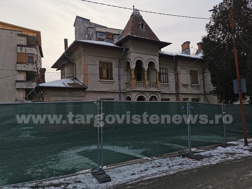 Găești – Au început lucrările la noul Centru Cultural Gheorghe Zamfir