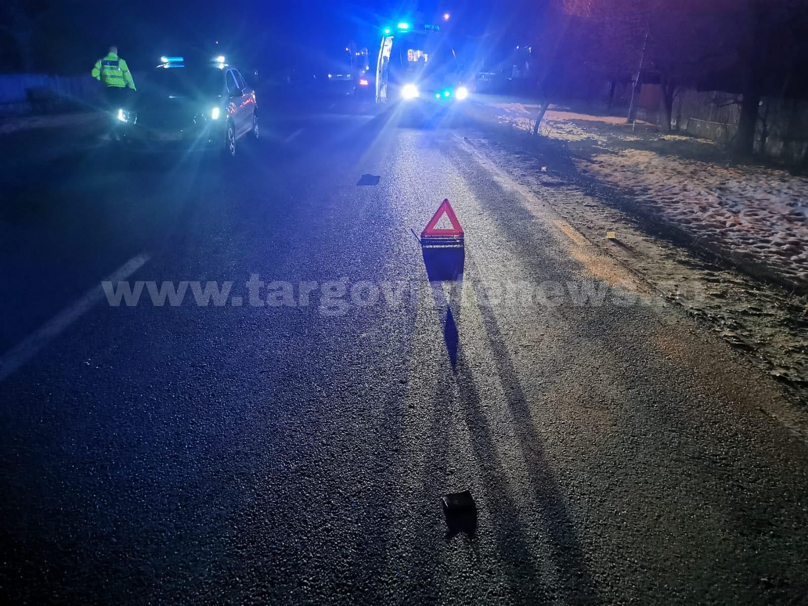 ACUM – Accident mortal la Valea Mare. O şoferiţă a dat peste un pieton