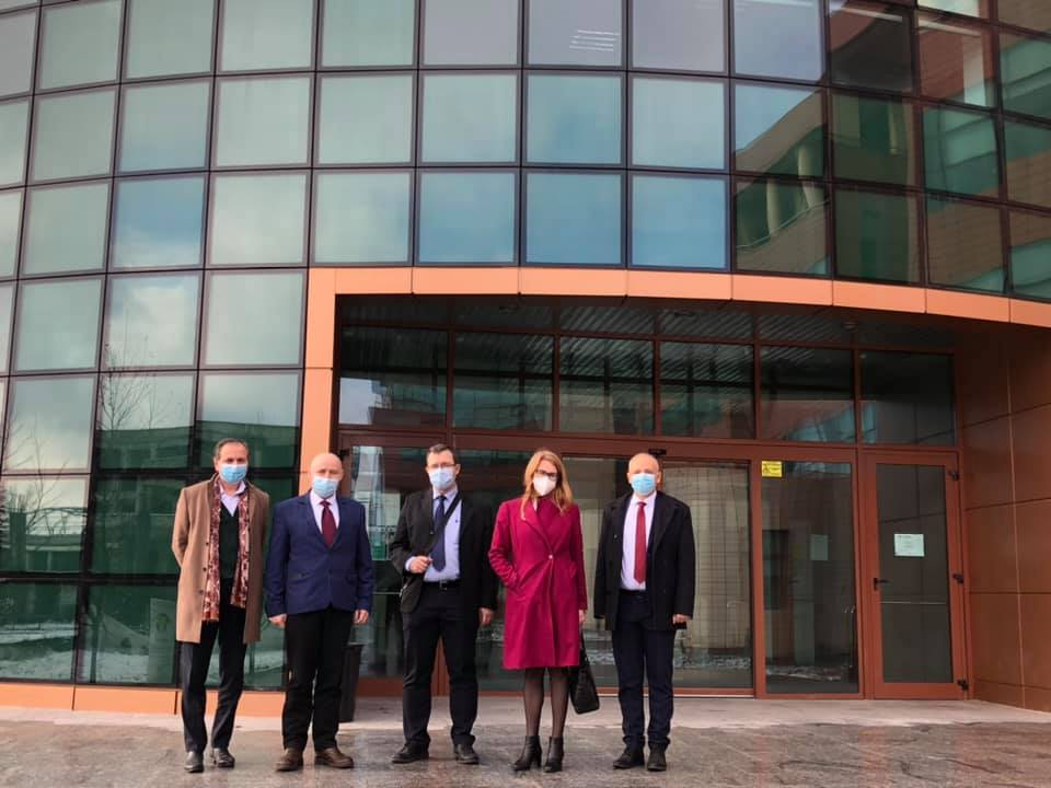 Excelenţa Sa Ingrid Kressel, ambasadorul Republicii Estonia, a vizitat Universitatea Valahia din Târgovişte