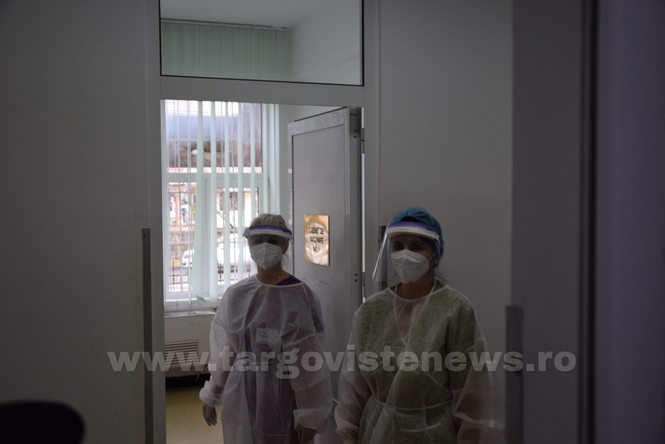 400 de angajați ai Spitalului Județean de Urgență Târgoviște au fost deja vaccinați împotriva Covid-19