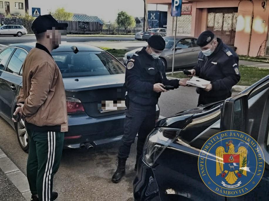 28 de dâmboviţeni, amendaţi de jandarmi pentru că nu respectau măsurile din starea de alertă