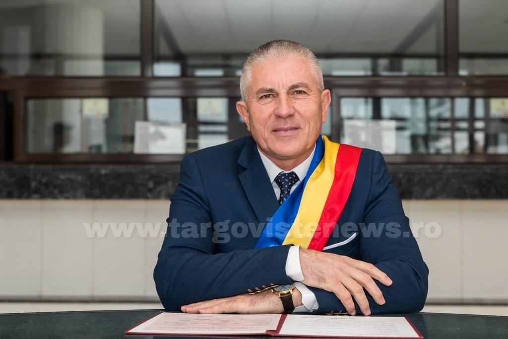 """Grigore Gheorghe, primarul oraşului Găeşti: """"Am ieşit pozitiv la testul Covid"""""""