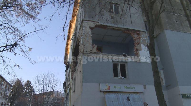 Imagini sfâşietoare din blocul unde s-a produs explozia devastatoare, din Găeşti