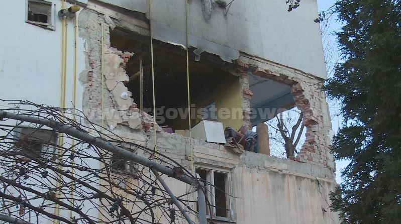 46 de oameni au rămas pe drumuri după explozia de la Găeşti. Orice ajutor contează