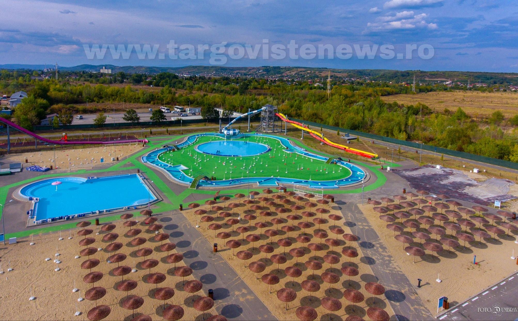 Târgovişte – A fost semnat contractul pentru parcul din vecinătatea Complexului de nataţie