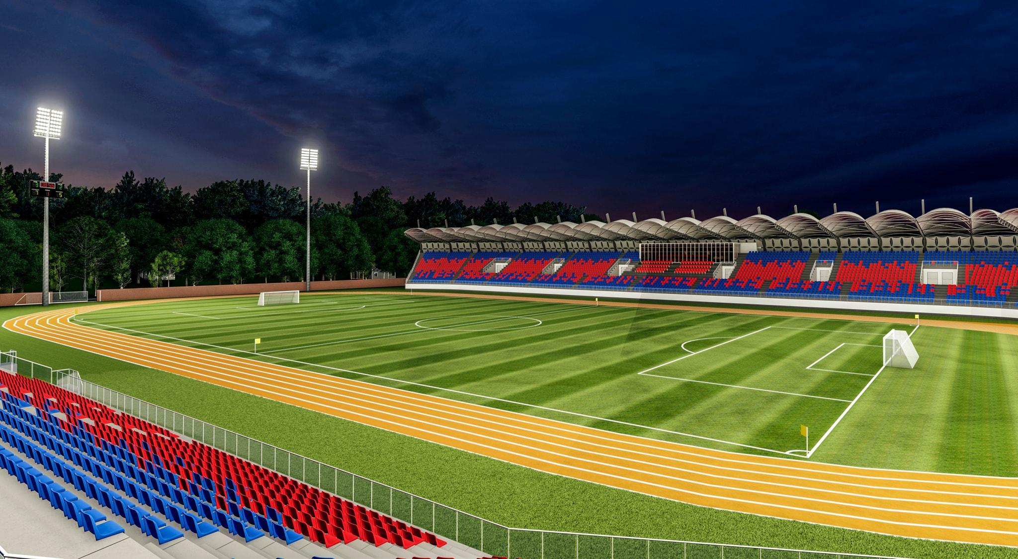 """În ce stadiu se află stadionul din Târgovişte. """"Facem tot ceea ce putem pentru a susține acest proiect"""""""