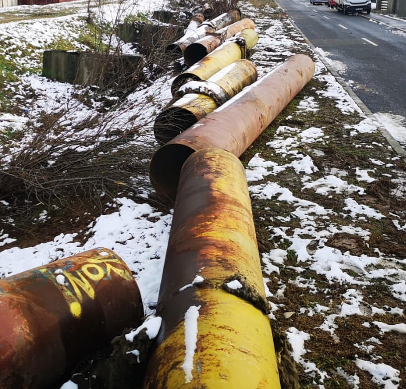 Târgovişte – Sunt dezafectate fostele rețele supraterane de termoficare