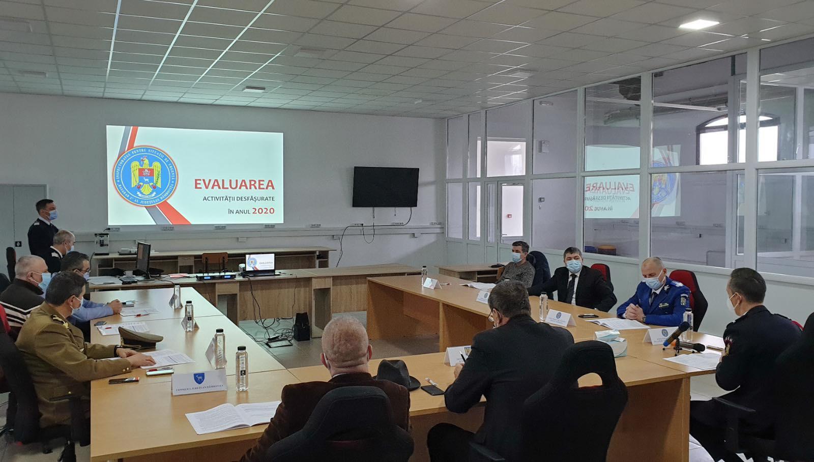ISU Dâmboviţa, la ora bilanţului. Activităţile din 2020