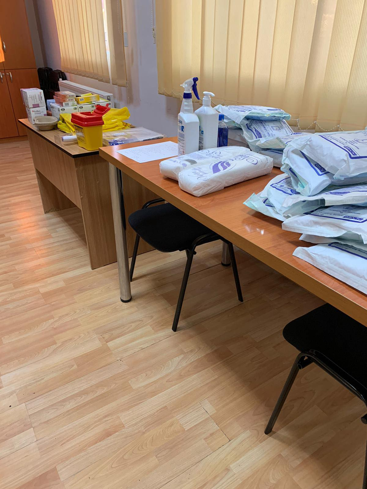 Etapa specială de vaccinare organizată pentru cadrele didactice în județul Dâmbovița
